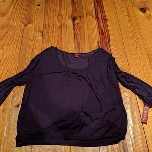 New plum blouse